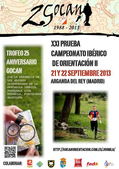 2.  XV ANIVERSARIO GOCAN- CAMPEONATO IBERICO