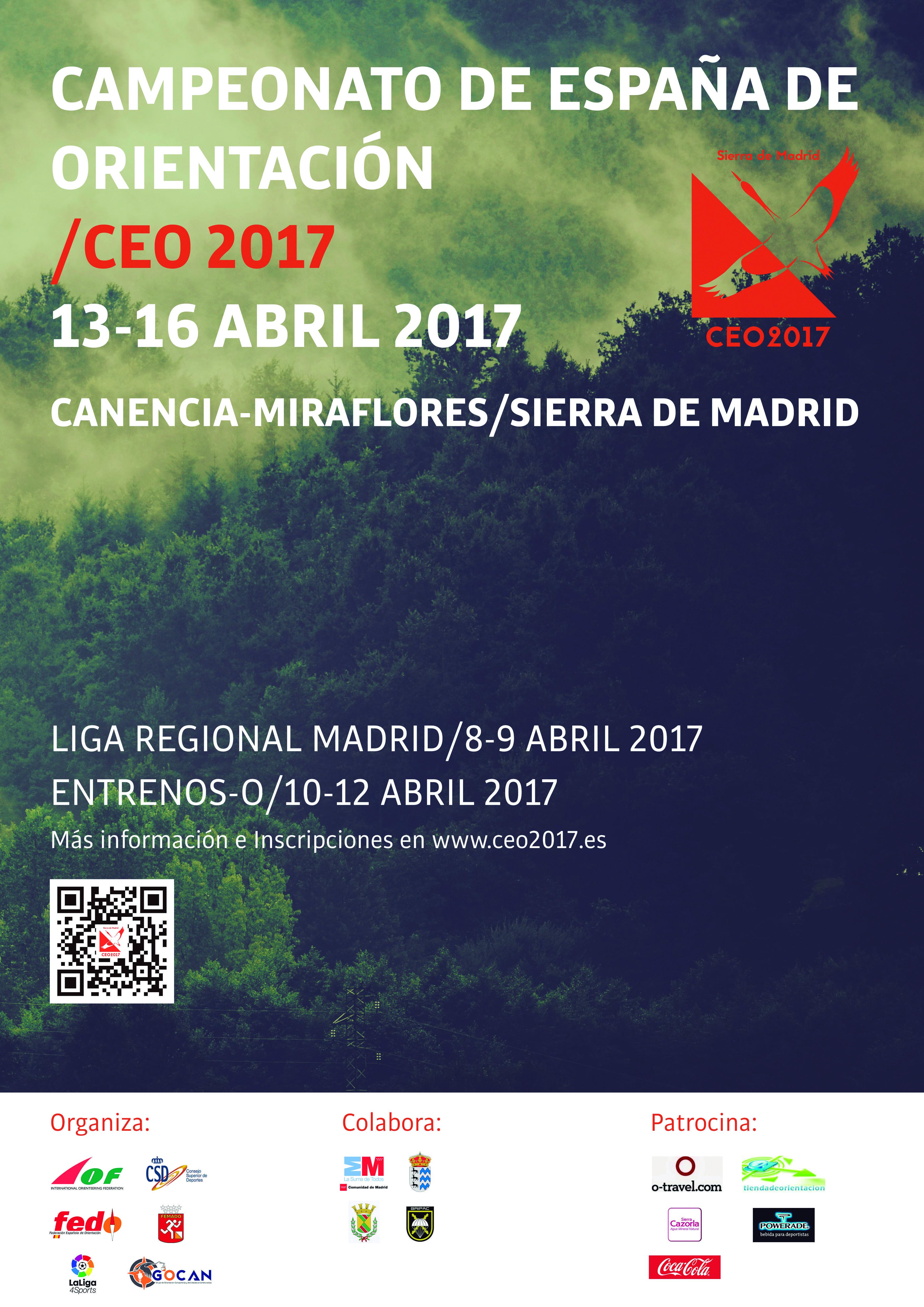 2017- CEO – CAMPEONATO DE ESPAÑA DE ORIENTACIÓN